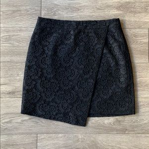 Madewell Black Lace Skirt